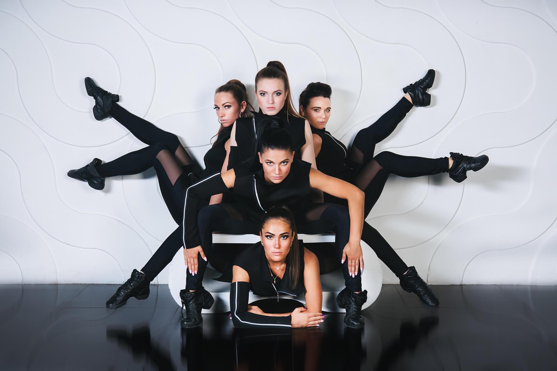 фотосессия для танцевального коллектива покупкой билетов